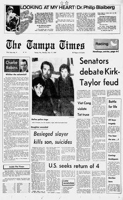 The Tampa Times, nº 9, 17/09/1969, p. 1
