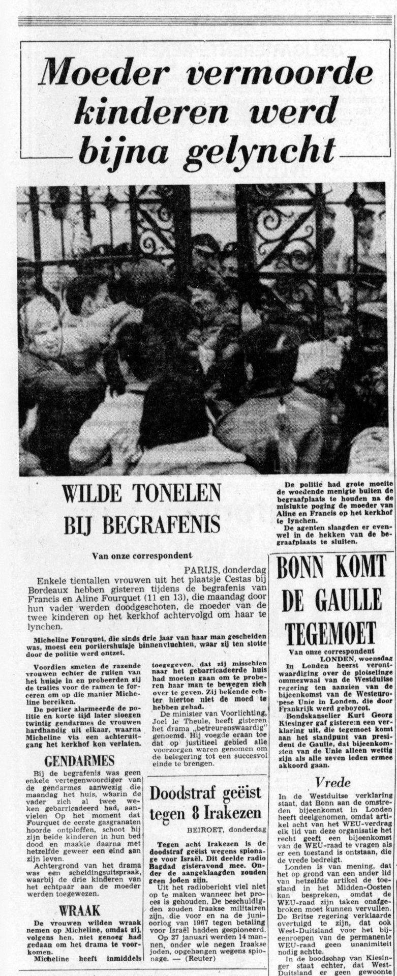 De Telegraaf, nº 25288, 20/02/1969, p. 9
