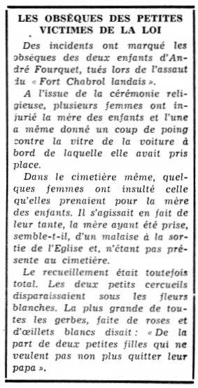 Le Peuple – La Sentinelle, nº 41, 20/02/1969, p. 6