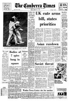 The Canberra Times, vol. 43, nº 12241, 21/02/1969, p. 1