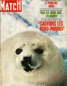 Paris Match, nº 1033, 22 février 1969, p. 1