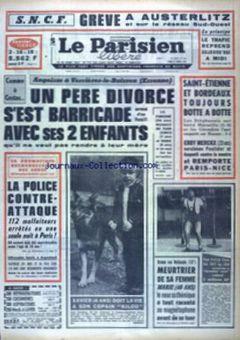 Le Parisien libéré, nº 7633, 17/03/1969, p. 1