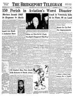 The Bridgeport Telegram, Vol. LXXVIII, nº 65, 17/03/1969, p. 1