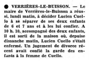 Le Peuple – La Sentinelle, nº 62, 18/03/1969, p. 6