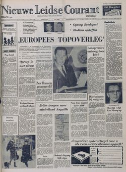 Nieuwe Leidse Courant, 18/03/1969, p. 1