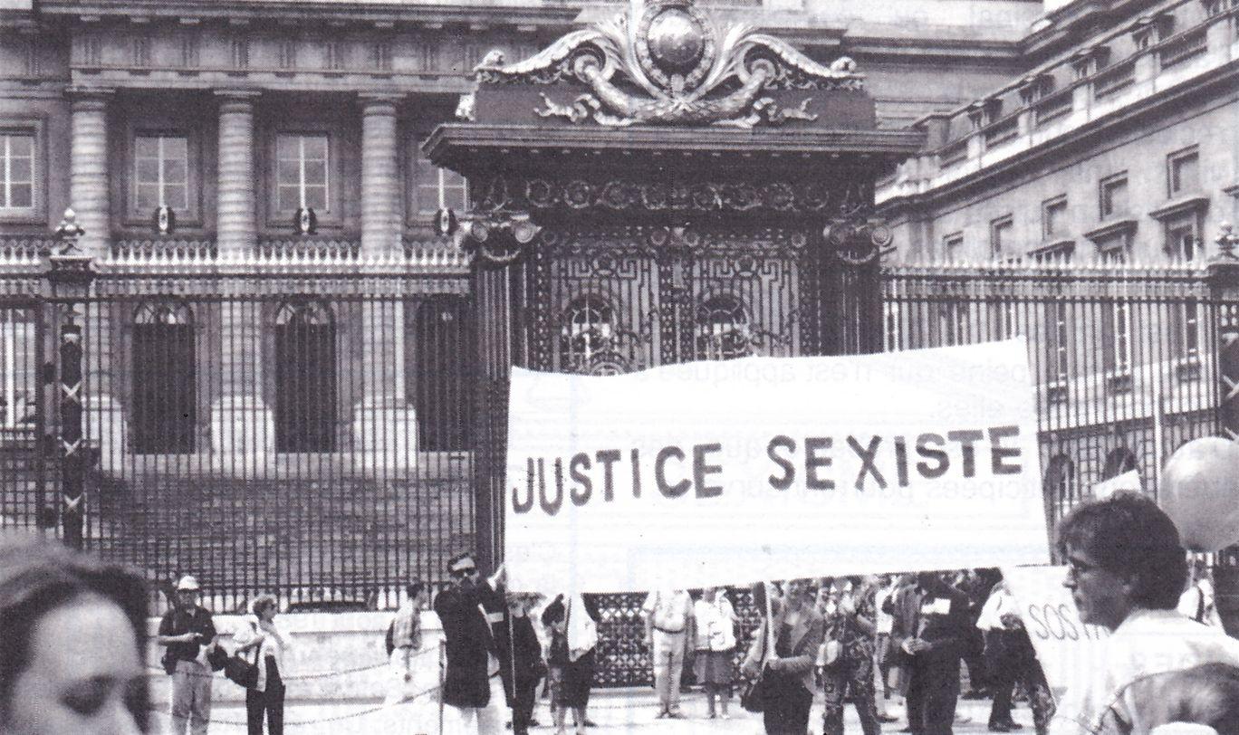Manifestation de SOS PAPA à Paris, 22/05/1993 (© SOS PAPA)