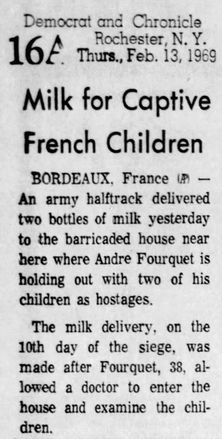 Democrat and Chronicle, 13/02/1969, p. 16A