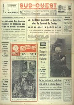 Sud-Ouest, 13/02/1969, n° 7610, p. 1