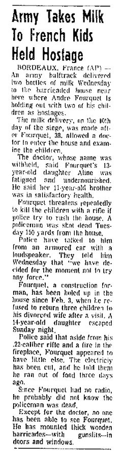 The Abilene Reporter-News, n° 234, 13/02/1969, p. 4-A