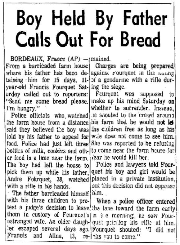 Florence Morning News, nº 45, 16 février 1969, p. 8-A