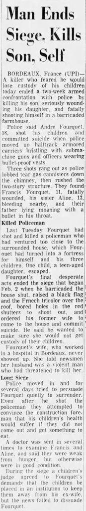 Courier-Post, vol. 94, nº 16, 17 février 1969, p. 5
