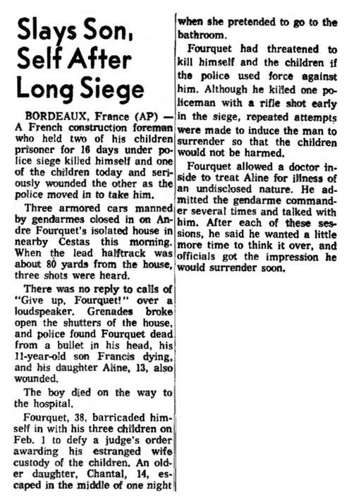 Indiana Evening Gazette, vol. 69, nº 157, 17 février 1969, p. 8