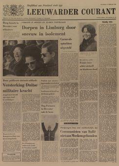 Leeuwarder Courant, nº 40, 17 février 1969, p. 1