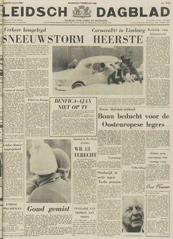 Leidsch Dagblad, nº 32716, 17 février 1969, p. 1