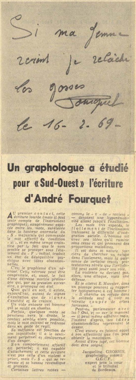 Sud-Ouest, nº 7613, 17 février 1969, p. 18