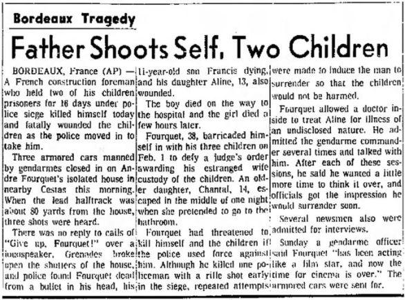 The Fresno Bee, vol. 91, nº 16692, 17 février 1969, p. 1