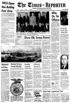 The Times-Reporter, vol. 65, nº 185, 17 février 1969, p. 1
