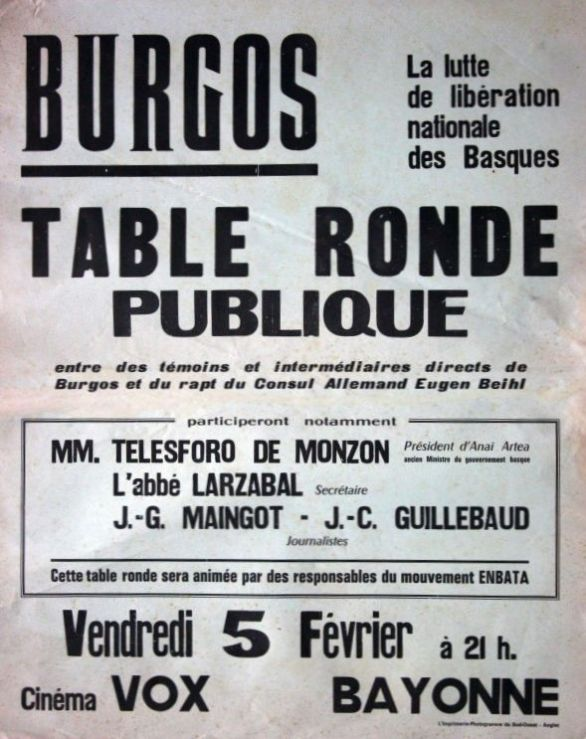 Table ronde publique 05/02/1971