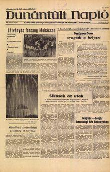 Dunántúli Napló, Vol. XXVI, nº 40, 18/02/1969, p. 1