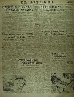 El Litoral, nº 16385, 18/02/1969, p. 1