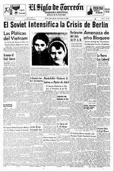 El Siglo de Torreón, nº 352, 18/02/1969, p. 1
