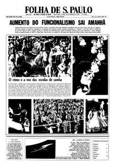 Folha de S. Paulo, nº 14492, 18/02/1969, p. 1