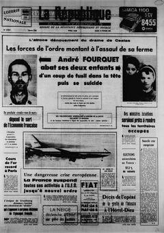La République des Pyrénées, nº 7453, 18/02/1969, p. 1