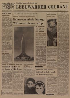 Leeuwarder Courant, nº 41, 18/02/1969, p. 1
