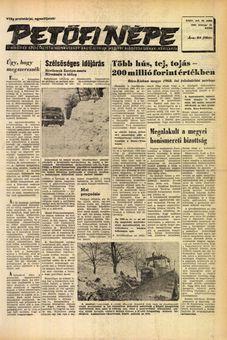 Petőfi Népe, vol. XXIV, nº 40, 18/02/1969, p. 1