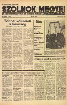 Szolnok Megyei Néplap, vol. XX, nº 40, 18/02/1969, p. 1