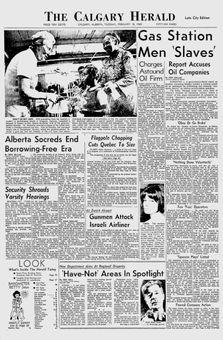 The Calgary Herald, 18/02/1969, p. 1