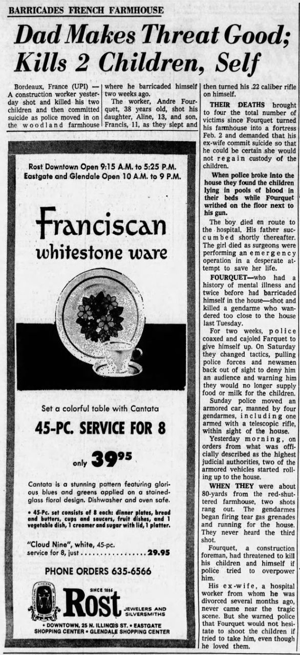 The Indianapolis Star, vol. 66, nº 258, 18/02/1969, p. 46