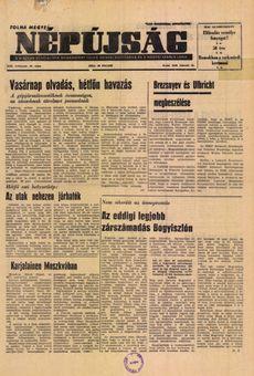 Tolna Megyei Népújság, vol. XIX, nº 40, 18/02/1969, p. 1