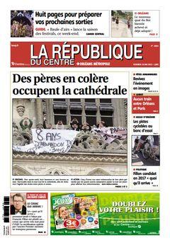 La République du Centre, n° 20854, 10 mai 2013, p. 1