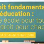 Droit fondamental à l'éducation : une école pour tous, un droit pour chacun
