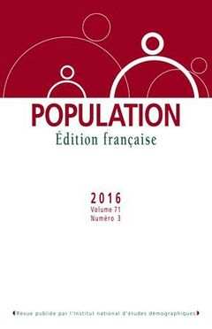 Population, Volume 71, nº 3, 2016