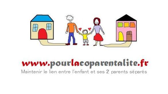 Logo Pour la coparentalité