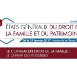 États généraux du droit de la famille et du patrimoine