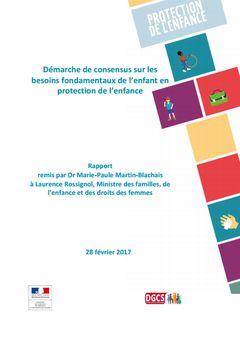 Démarche de consensus sur les besoins fondamentaux de l'enfant en protection de l'enfance