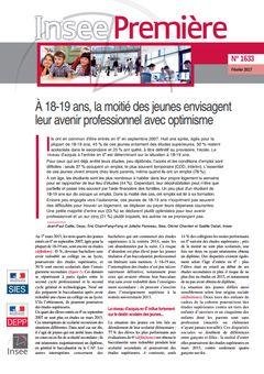 Insee Première, nº 1633, 2 février 2017