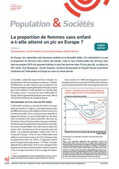 Population & Sociétés, nº 540, janvier 2017