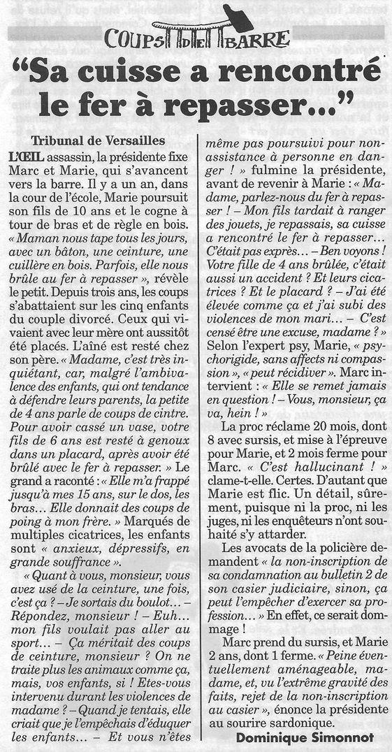 Le Canard enchaîné, nº 5033, 12 avril 2017, p. 5