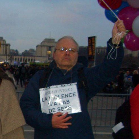 Manifestation SOS PAPA à Paris, 12 décembre 2009 (© Groupe d'études sur les sexismes)