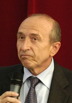 Gérard Collomb (© Florent Pessaud)