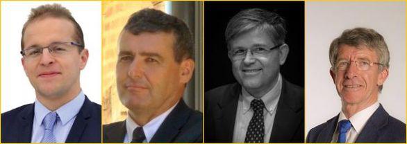 Thibault Bazin, Xavier Breton, Patrick Hetzel et Frédéric Reiss (© D.R.)