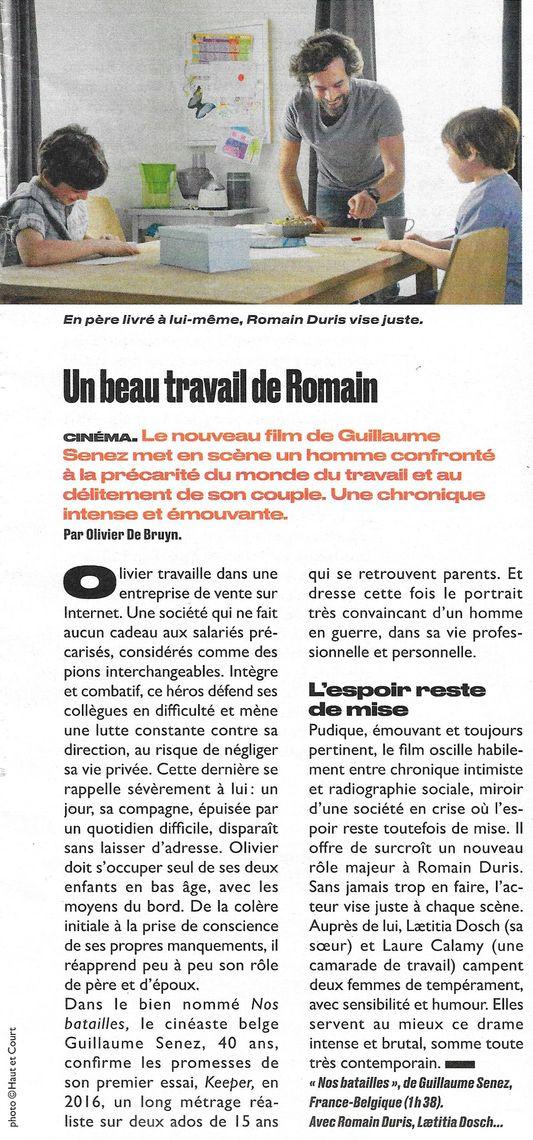 Aujourd'hui en France, nº 6166, 5 octobre 2018, p. 49