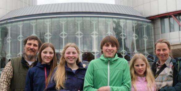 La famille Wunderlich (© ADF International)