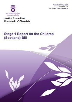 Stage 1 Report on the Children (Scotland) Bill