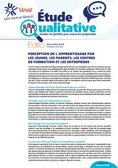 Étude qualitative, nº 14, 15 mars 2021.