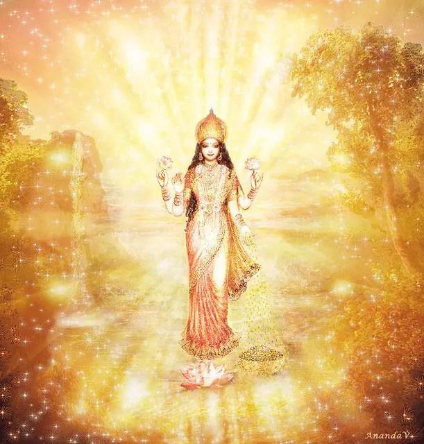Reiki De La Prospérité, Bénédictions de Lakshmi